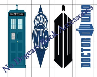 Doctor Who Inspired Printable Bookmarks / Printable Bookmarks / DIY Bookmarks / Print at Home Bookmarks