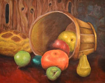 Still Life with Fruit Basket