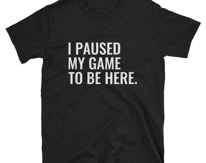 Funny Video Gamer Unisex Shirt | Gamer Shirts, Gamer Gifts, Gaming Gift, Gamer Gift, Video Gamer, Video Game Shirt