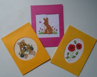 Set of 3 Greetings Cards