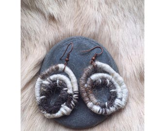 Jacobs Wool Earrings