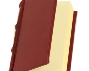 Leather diary in antique style-travel