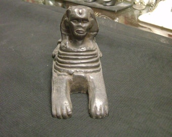 Unique Small Egyptian Sphinx Hand Carved Made In Egypt