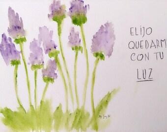Watercolour - Tu Luz