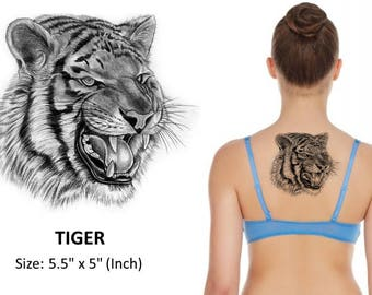 TIGER - Temporary Tattoo