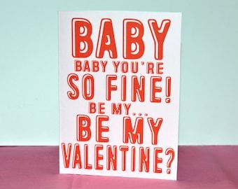 Eurovision 'Be My Valentine' Valentine's Day Card