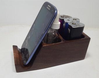 E-cigarette Ecig Vape Stand with Cell Phone Holder - Box Mod Smok gx350 + others, Tanks, e-juice (EC0689)