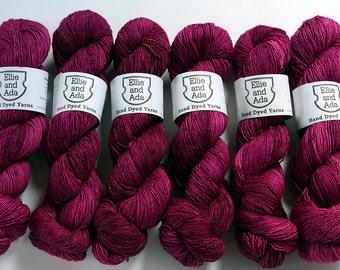 Aphrodite Hand Dyed Semi Solid Merino Singles Yarn