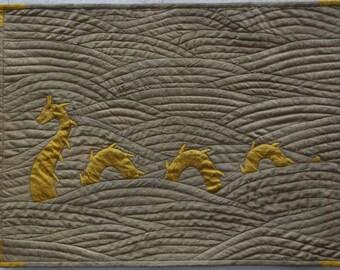 Gold Silk Sea Serpent
