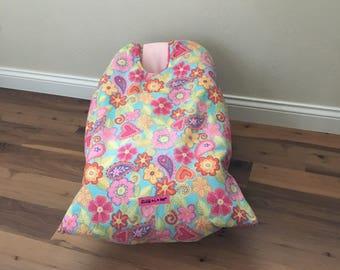 Infant Car Seat Blanket, Paisley Snug L Bee, infant carrier blanket, winter baby blanket, car seat cover, baby carrier blanket, baby gift