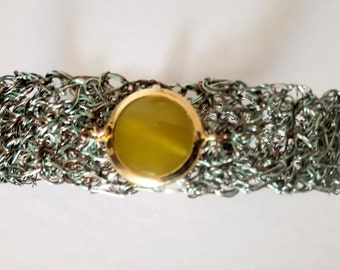 Wire knitted Bracelet