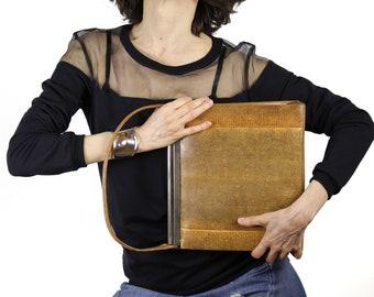 Vintage Large Calcutta Lizard Skin Handbag