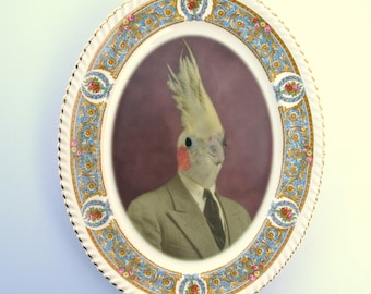 Mr. Gary Tiel  - Altered Vintage Plate