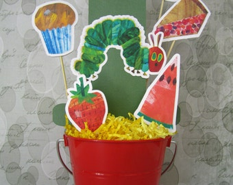 Hungry Caterpillar Centerpiece - Bucket not included