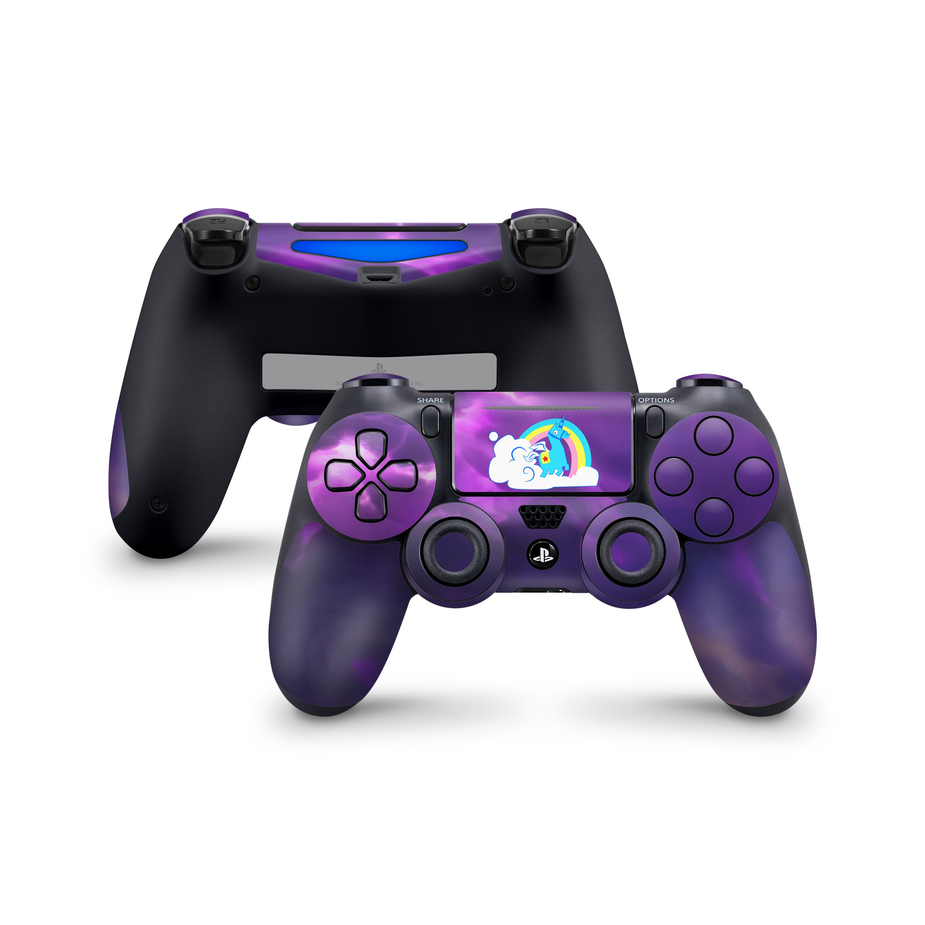 Forknife Battle Royale Lllamacorn Skin Decal For Sony