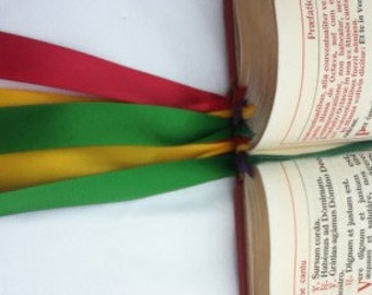 Altar Missal Replacement Ribbons, Ribbon missal marker, Altar missal bookmark, customised altar bookmark