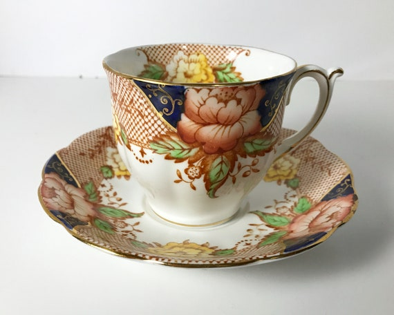 Shore & Coggins Bell Fine Bone China Teacup and Saucer
