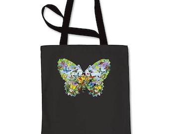 Butterflies Shopping Tote Bag