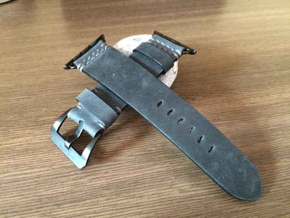 Apple Watch Band | Apple Watch Strap | Vintage Leather Watch Band | Vintage Leather Watch Strap For Apple Watch 38mm & Apple Watch 42mm