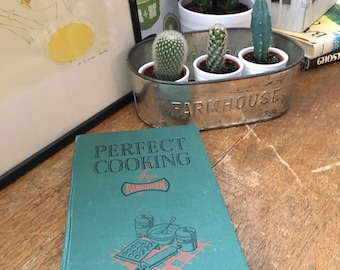 Vintage Recipe Cookery Book Perfect Cooking 1940's War Time Cook Book
