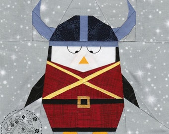 Viking Penguin Olaf - Paper Piecing