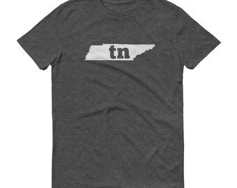 Tennessee Tshirt, Tennessee, Tennessee Shirt, TN Shirt, Tennessee State, Tennessee Tee, State Pride, Gifts, State, Map, Shirt, TShirt, Tee