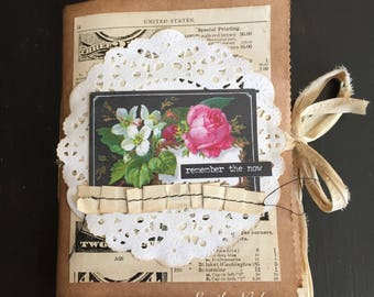 Remember The Now junk journal/mini book