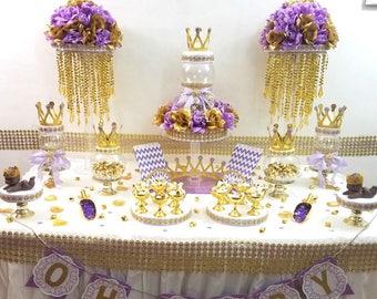 Baby Shower Decor Purple ~ Lavender baby shower etsy