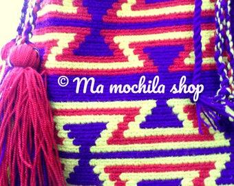 Handmade, Bohemian chic purse bag