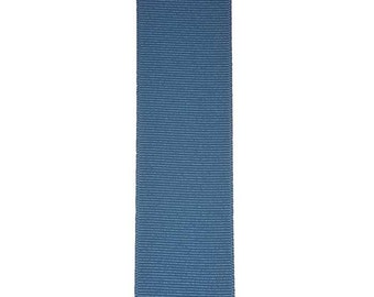 "3"" BLUE MAGIC / Aegean GROSGRAIN Ribbon  - 100% Polyester - Select Width / Length - Ideal for Cheer & Hair Bows"