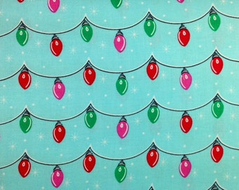 Michael Miller TWINKLY LIGHTS 100% Cotton Fabric for Quilting - sold by 1/2 yard