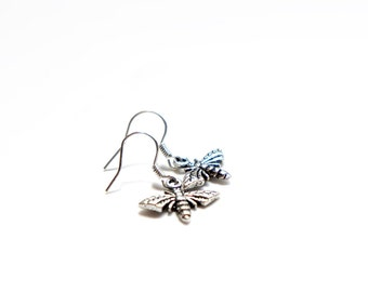 Mini Little Flies Dangle Earrings