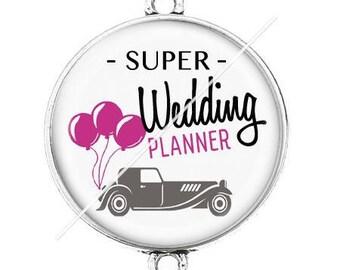 Great connector silver cabochon wedding planner 1