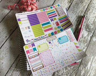WEEKLY Birthday Sticker Kit