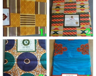 VALUE BUNDLES! African Ankara Fabrics