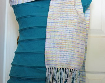 Pastels - Handwoven  Scarf