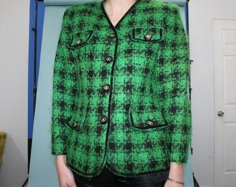 100% Wool TWEED Coat