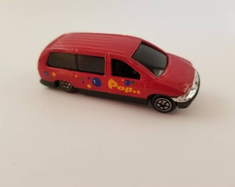 Pop Red Van Toy