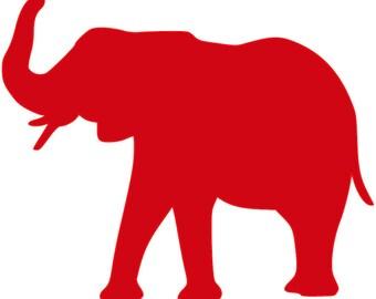 alabama elephant svg etsy rh etsy com university of alabama clipart logo university of alabama clip art free