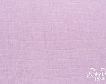 Double Gauze Cotton Embrace - Lilac