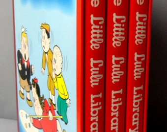 Marge's LITTLE LULU Library Vol 2 Marjorie Henderson Buell John Stanley Another Rainbow Publications Russ Cochran