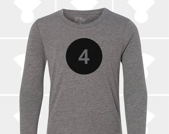 4th Birthday - Long Sleeve Shirt