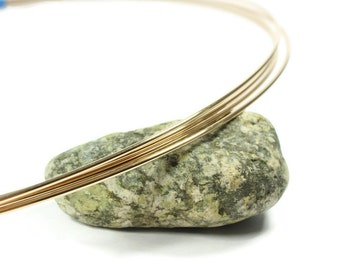 18 Gold Filled Square Half Hard 18 Wire, 14 K, Made in the USA