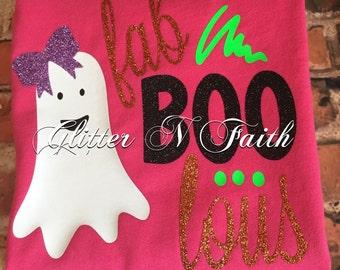 FabBOOlous Halloween Tshirt