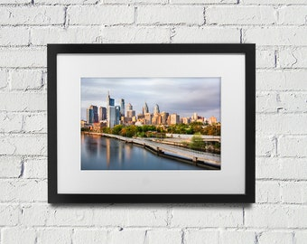 Philadelphia Skyline Photography Philly Art - Center City Philadelphia