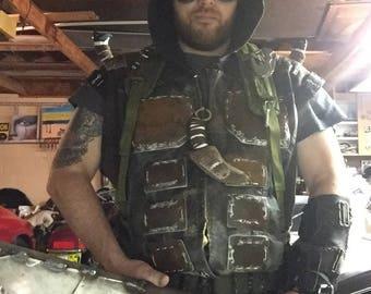 Plate Armor Hooded Vest