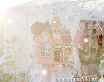 In Wonderland - Dollhouse Dreamscapes - 5 postcard set