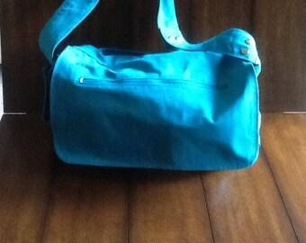 Teal Diaper Bag