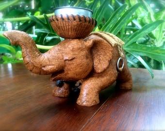 Medium Elephant Candleholder - The Elephant in the Room
