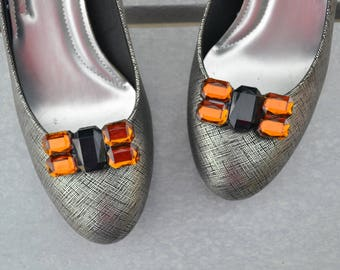 Black Shoe Clips